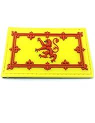 Escocia The Brave Bandera Airsoft Velcro PVC Parche