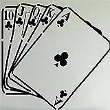Casino Aufkleber Gambling Decal Gamble Poster Vinyl Wandtattoos Parede Decor Wandbild 19 Farbe Wählen Sie Casino Aufkleber andere Farben 40x42cm