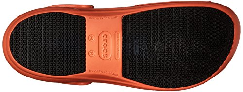 crocs Unisex-Erwachsene Bistro Batali Edition Clogs Orange (Orange)