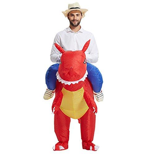 Imagen de heyma adulto dinosaurio disfraz disfraz halloween traje alternativa