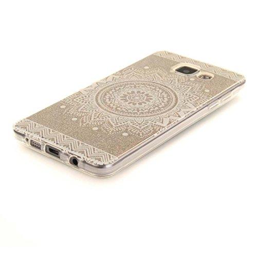 iPhone 7 Coque, Cover étui pour iPhone 7 4.7 pouces, Bling Glitter (Multiflora Rose) Fluide Liquide Sparkles Flowing Brillante, iPhone 7 Case Shell anti-chocs & stylet color-3