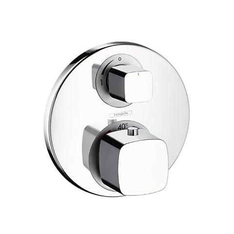 Hansgrohe Farbset Ecostat E für Unterputz-Thermostat zur I-Box 01800180, verchromt, 31572000