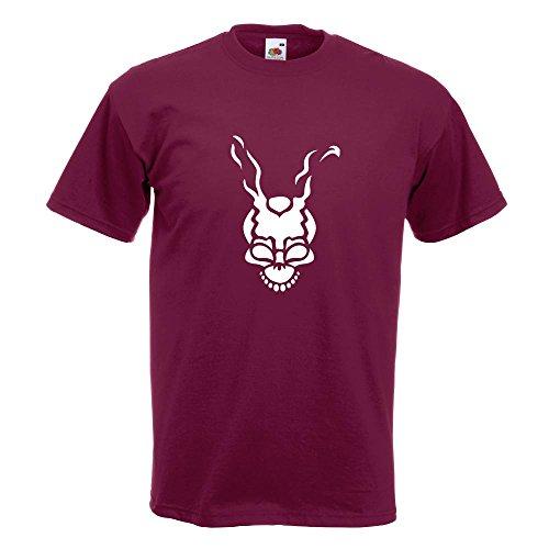 KIWISTAR - Frank T-Shirt in 15 verschiedenen Farben - Herren Funshirt bedruckt Design Sprüche Spruch Motive Oberteil Baumwolle Print Größe S M L XL XXL Burgund