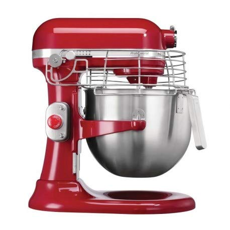 KitchenAid 5 KSM7990 X BER Planetary Mixer, 6,9 l, rot (Professional Mixer Kitchen Aid)
