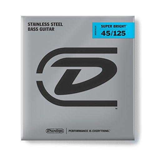 Dunlop DL STR DBSBS 045/125 Bass Super Bright Stainless Steel (5-String)