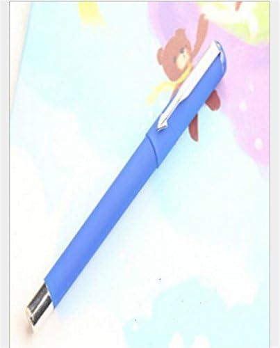WWUUOOPRT Ensembles de Fournitures Scolaires 4 Pcs / Commerce Set Commerce / Gel Stylo Kit Pratique Signing Pen Étudiant Papeterie Récompense (Bleu) c6b62e
