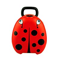 My Carry Potty Waterproof Travel Potty with Ladybird Design