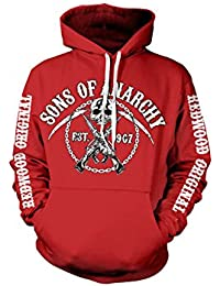 Sons Of Anarchy Chain Logo Hoodie