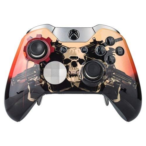 Scarlet Xbox One Elite UN-MODDED Custom Controller Einzigartiges Design