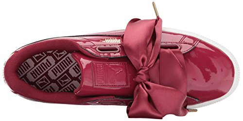 Puma Women's Basket Heart Patent Wn Sneaker Tibetan Red-tibetan Red