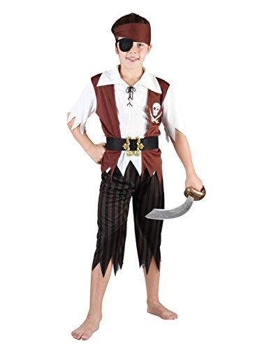 Costume pirata bambino 4/6 anni (104/116)