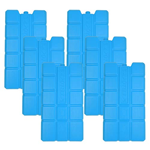 NEMT 6 x Kühlakku 750 ml Kühlelemente für die Kühltasche oder Kühlbox Kühlakku