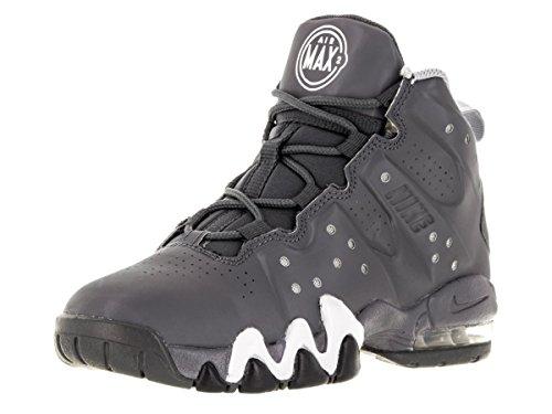 Nike-Air Max Barkley (PS) Scarpe da Basket Dark Grey/Dark Grey/Wht/Wlf Gry