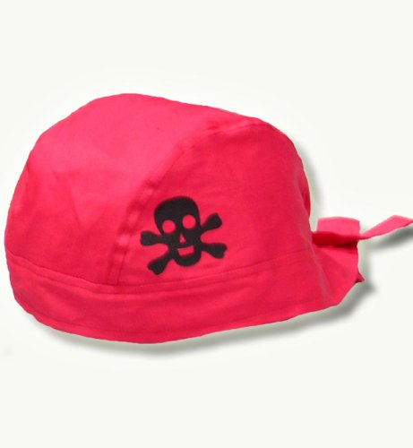 Piraten Bandana Kopftuch Haube Piratenhaube rot
