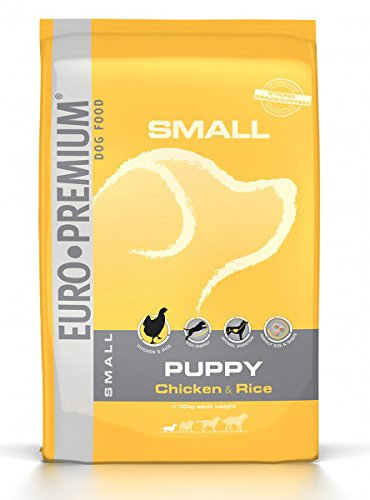 Euro Premium à Small Puppy Chicken & Rice 3kg