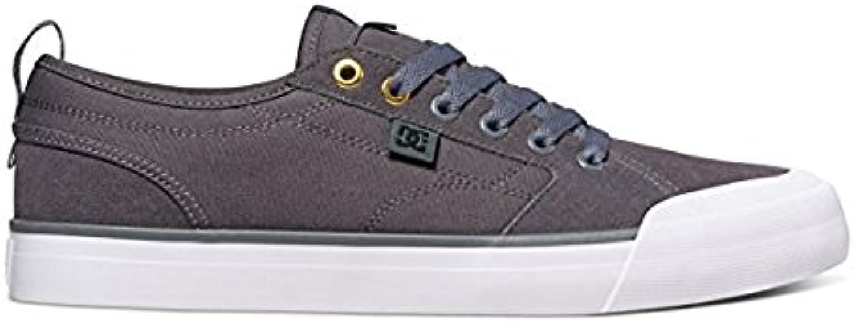 DC Men'S Evan Smith TX Skate Shoe, Negro (Charcoal), 45.5 D(M) EU/11 D(M) UK