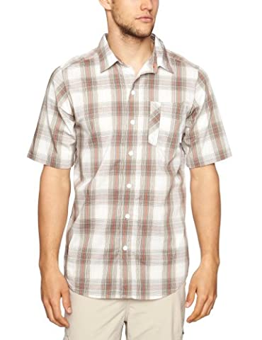 Columbia Men's Decoy Rock Short Sleeve Shirt - Fossil, XXXXL