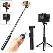 Selfie Stick Tripod with Wireless Bluetooth Remote, Innoo Tech 3 in 1 Extendable Monopod Mini Pocket Aluminum