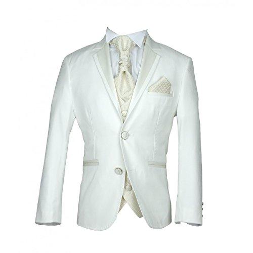 Jungen heiliger Kommunions Anzug, Jungen weiße Sahneklagen (Premium-jugend-hosen)