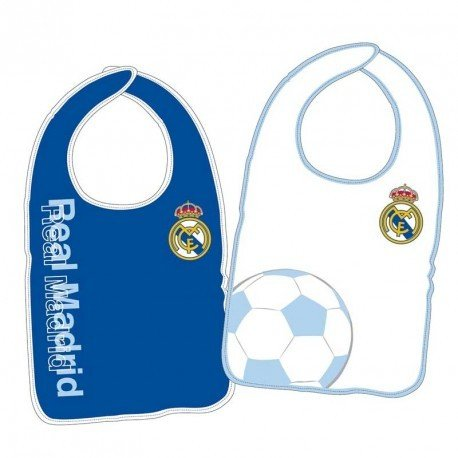 PACK2 BABEROS BEBE R.MADRID