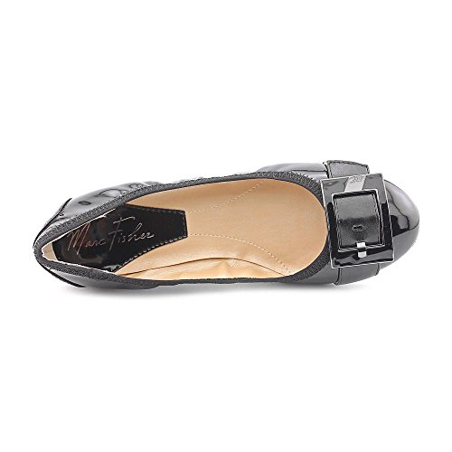 Marc Fisher Rosa Synthétique Chaussure Plate Black Multi