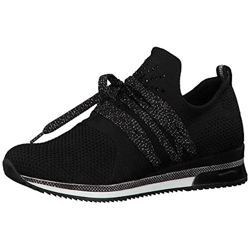 MARCO TOZZI Damen 2-2-23738-33 Slip On Sneaker, Schwarz (Black Comb 098), 40 EU 2 Slip-ons