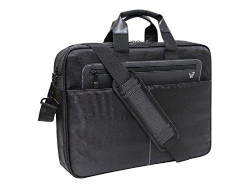 "V7 Cityline 16.1"" Briefcase Black - notebook cases (40.9 cm (16.1""), Briefcase, Black, Polyester, 304 mm, 406 mm)"