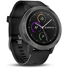 Garmin Vívoactive 3 GPS-Fitness-Smartwatch - vorinstallierte Sport-Apps, GPS-Sensor, kontaktloses Bezahlen Pay