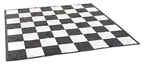Garden Games Ltd 807, Scacchiera per dame e scacchi, 3 x 3 m