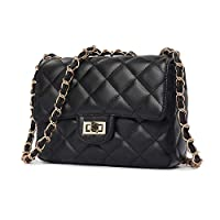 Black Fashion Women Lady Leather Messenger Crossbody Shoulder Bag Satchel Handbag Tote [SHP-1]