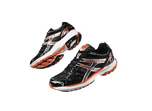 Crivit Damen Laufschuhe Fitness Schuhe Sportschuhe Trainingsschuhe Top Qualität NEU (38 EU Schwarz-Orange)