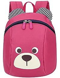 893ad11669 LQQSTORE zaino per studenti, Anti-perso bambini borsa per bambini carina  animale cane bambini zaini zaino scuola…