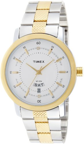 Timex Classics Analog Silver Dial Men's Watch-G910
