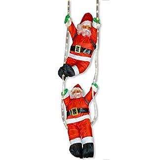 2x-Weihnachtsmann-hngend-an-LED-Lichtschlauch-beleuchtet-von-Gartenpirat
