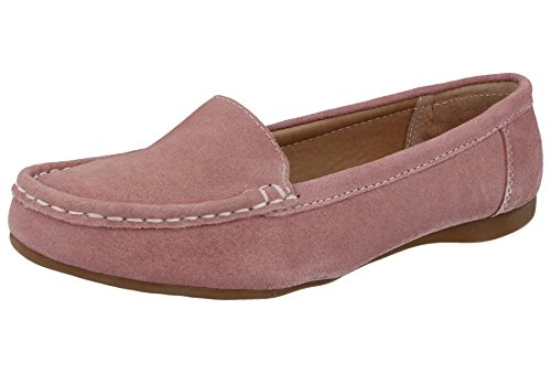 Jo & Joe Damen Slipper, Blush - Größe: 42 (Leder Brookfield)
