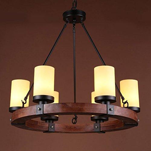DSADDSD &Pendelleuchte Restaurant Industrial Edison Retro Style 6 Lampe Küche Insel Decke Küche Insel Pendelleuchte (größe : 69 * 22CM)
