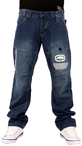 ecko-sovereign-star-mens-boys-jeans-time-is-g-money-denim-hip-hop-nappy-wear-w32-regular-approx-31