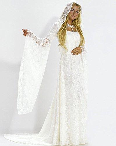 Burda 2484 Schnittmuster Kostüm Fasching Karneval Fee Elfe Braut (Damen, Gr. 36-46) – Level 3 ()