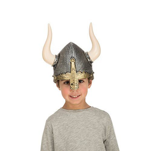 viving Kostüme viving costumes204674Wikinger Helm für Kinder (57cm, One Size)