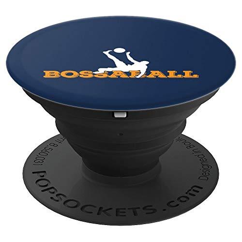 Bossaballer Bossaball Spieler Athlet Team Trainer Anhänger - PopSockets Ausziehbarer Sockel und Griff für Smartphones und Tablets