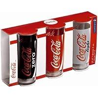 Luminarc Estuche 3 Vasos Coca Cola Modelo Mix