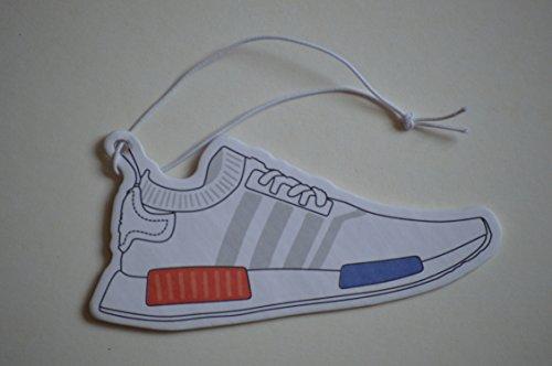 Preisvergleich Produktbild Adidas NMD Sneaker Duftbaum Weiß Lufterfrischer Auto