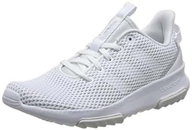 adidas Damen Cloudfoam Racer Tr Gymnastikschuhe  40 2/3 EUElfenbein (Ftwr White/Matte Silver)