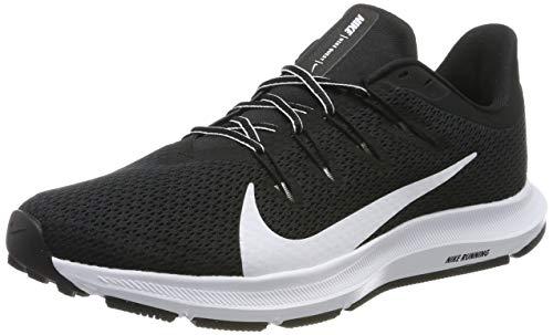 Nike Quest 2, Zapatillas de Running para Asfalto para Hombre, Multicolor (Black/White 002), 45 EU