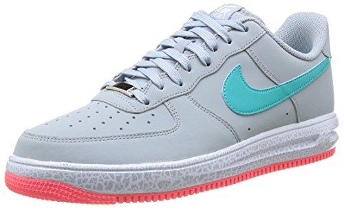 Nike Lunar Force 1 '14, Scarpe sportive, Uomo Lt Magnet Grey/Hyper Jade