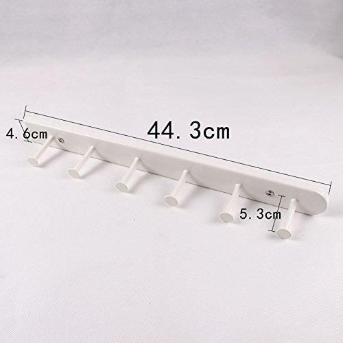 GYP Unterwäsche Rack Kleiderschrank Metall Doppelte Schiene Regal Seitliche Montage Kleiderbügel Storage Rack kaufen ( größe : E ) (Kleiderschrank Frames)