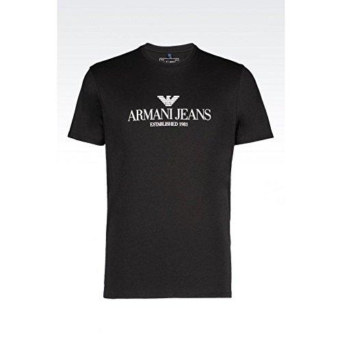 Maglietta Maniche Corte Armani Jeans c6h6e FF12- nero XL