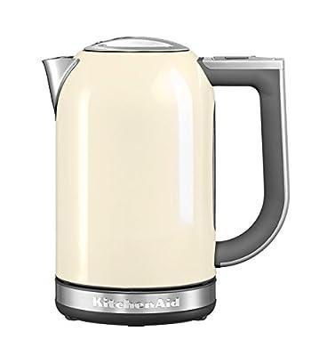 Kitchenaid - 5kek1722 eac - Bouilloire sans fil 1.7l 2400w température réglable crème