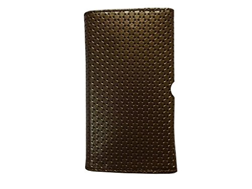 Atv Pu leather Pouch Case Flip Cover For Sony Xperia Z1(Dark Golden Rod)