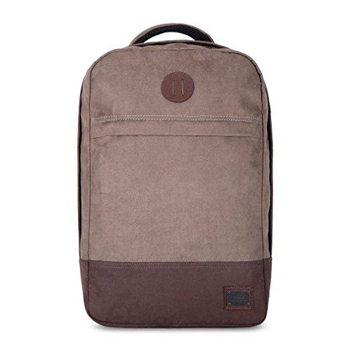 Caison Modisch Hohe Qualität Hülle Schulter Messenger College Tasche Rucksack Komfortable Casual Reisen Schoner Abdeckung (Braun) (Unterschrift Schulter Tasche)